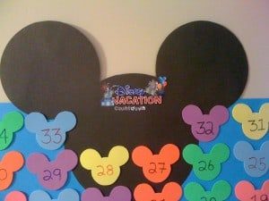 Disney Vacation Countdown Close