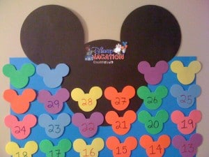 Disney Vacation Countdown In Use Example
