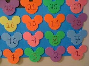 Disney Vacation Countdown Small Mickey