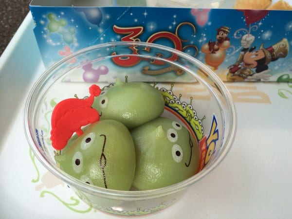 Green Men Dumplings