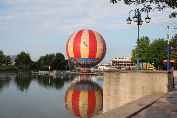 Disney Village Early Morning