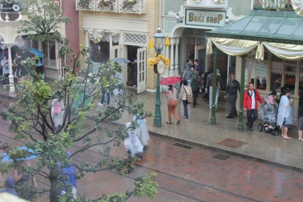 View of Main Street from Walt's An American Restaurant