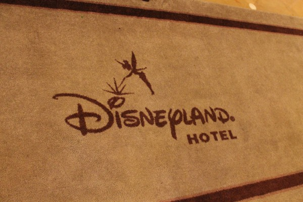 Disneyland Paris Hotel Welcome Mat