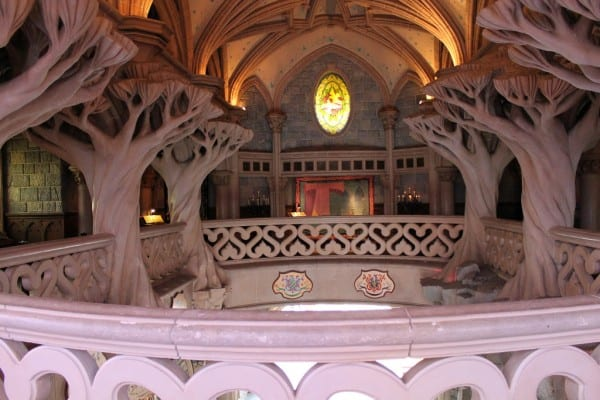 Inside Sleeping Beauty's Castle in Disneyland Paris