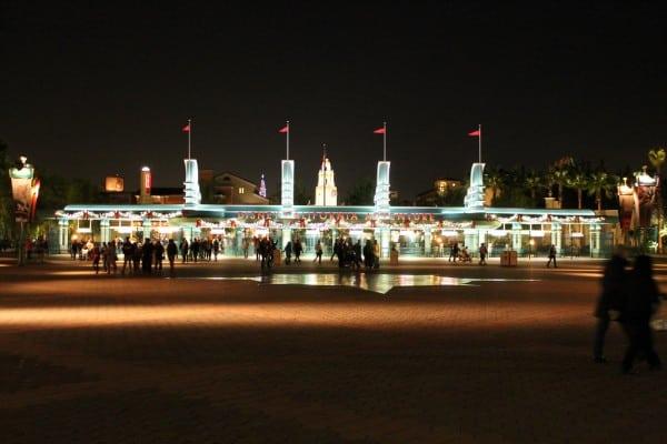 Disney California Adventure Entrance