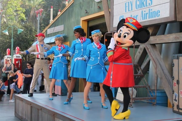 Minnie Mouse and the Fly Girls