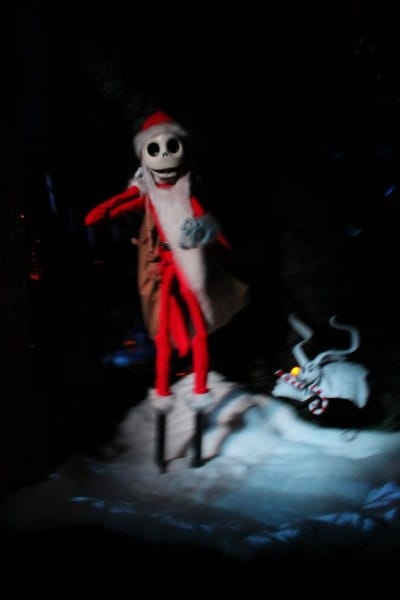 Jack Skellington in a Haunted Mansion Holiday