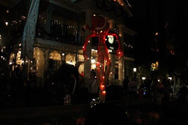 Outside Haunted Mansion Holiday