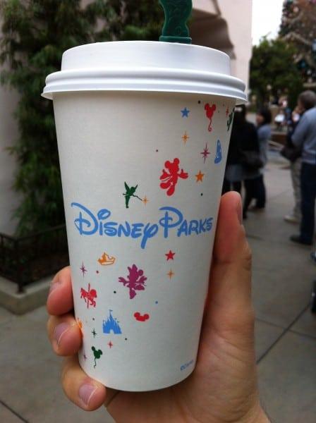 Starbucks Cup in Disneyland
