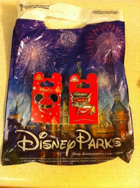 Christmas Mickey Pin