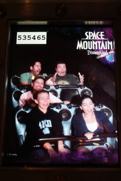 Lost Passenger Space Mountain