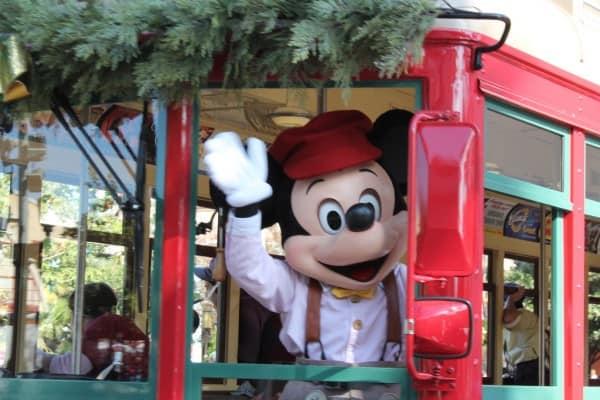 Mickey in Disney California Adventure