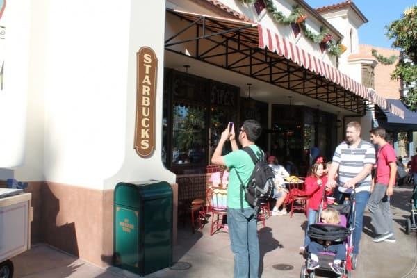 Starbucks in California Adventure