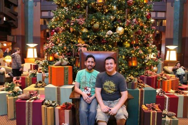 Grand Californian Hotel Christmas Tree