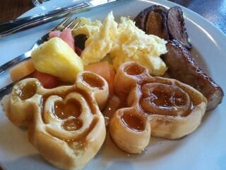 Famous Mickey Waffle