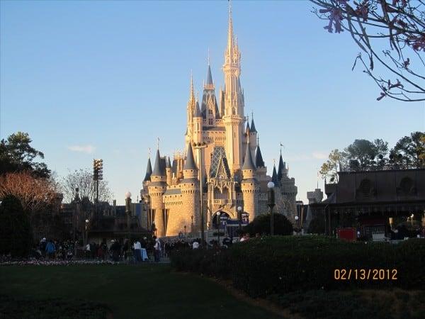 Cinderella's Castle in the Magic Kingdom
