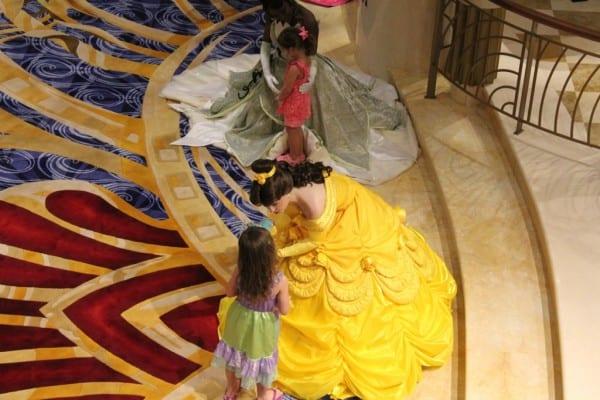 Disney Princess' On Deck
