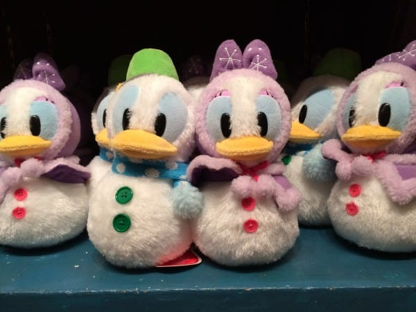 Donald & Daisy Stuffed Snowmen