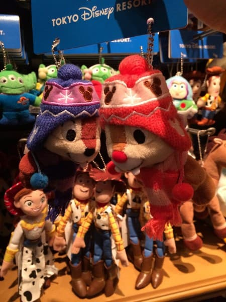 Chip N' Dale with Hats