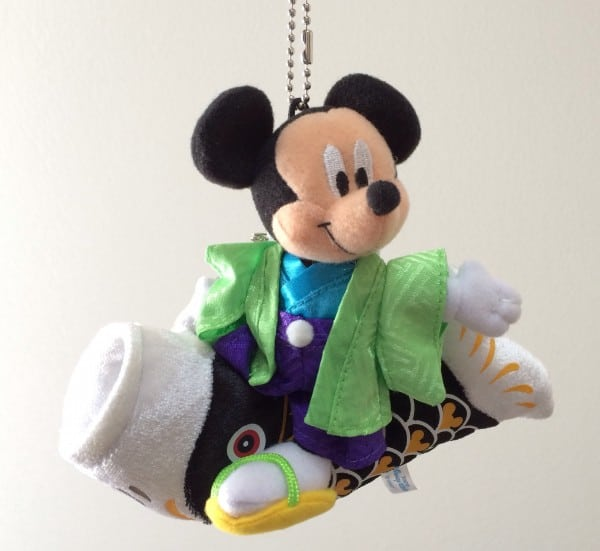 Unique Mickey Mouse Plush from Tokyo DisneySea