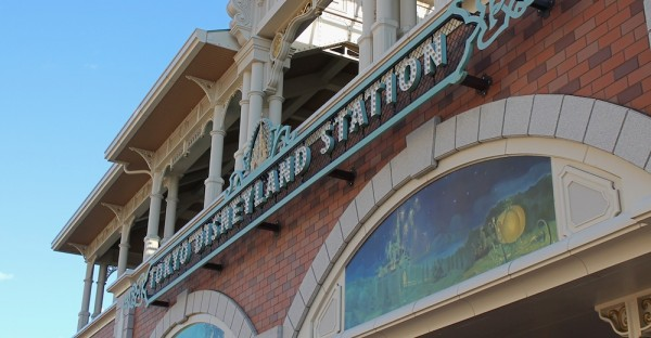 Tokyo Disneyland Station on the Disney Resort Line.