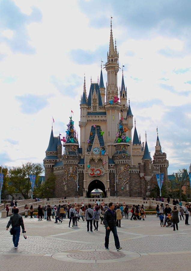At the middle of Tokyo Disneyland - where do we go next?!