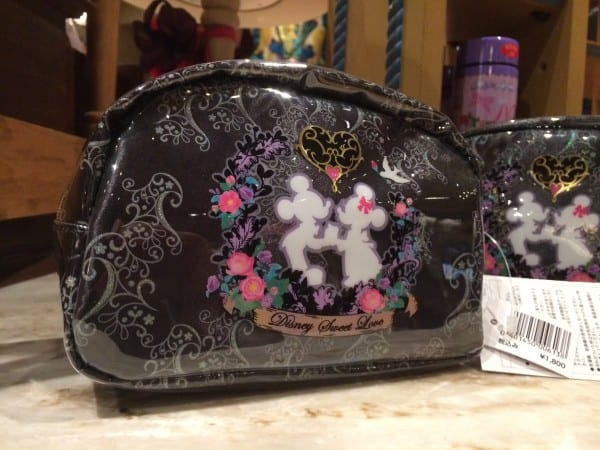 Mickey and Minnie Sweets Love 2014 Makeup Bag