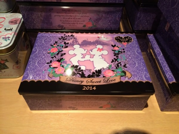 Mickey and Minnie Box of Chocolates