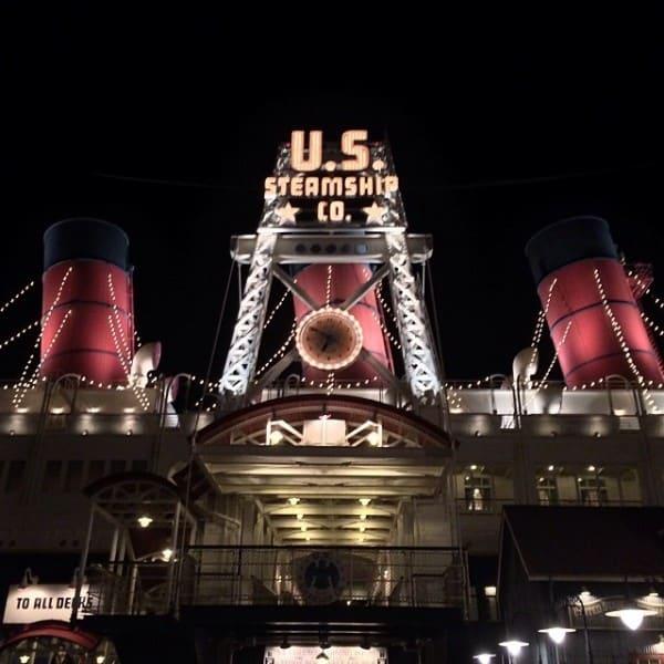 S.S Columbia in Tokyo DisneySea