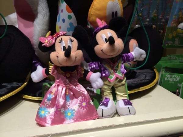 Mickey & Minnie Disney's Easter Plush