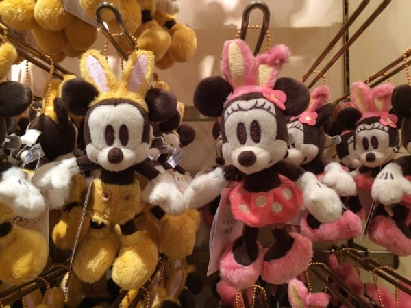 Mickey & Minnie Disney's Easter Outfit Plush