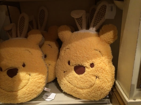 Winnie the Pooh with Bunny Ears Pillow