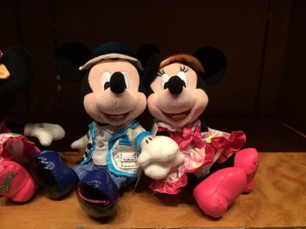 Mickey and Minnie Spring Voyage Plush