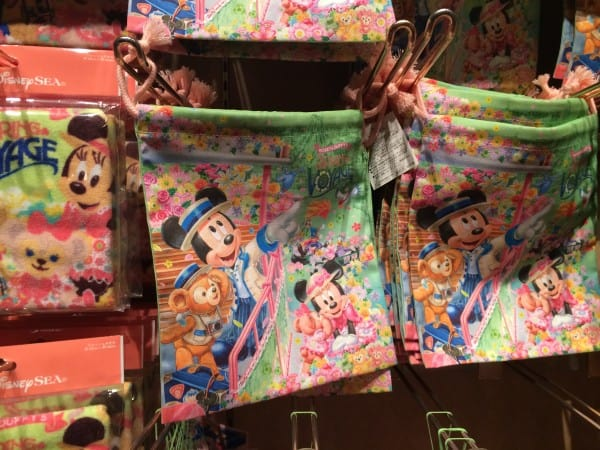 Mickey and Duffy's Spring Voyage Item Bag