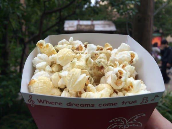 Soda Flavoured Popcorn at Tokyo Disney Resort