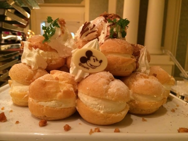 Mickey Cream Puffs Sherwood Garden Buffet