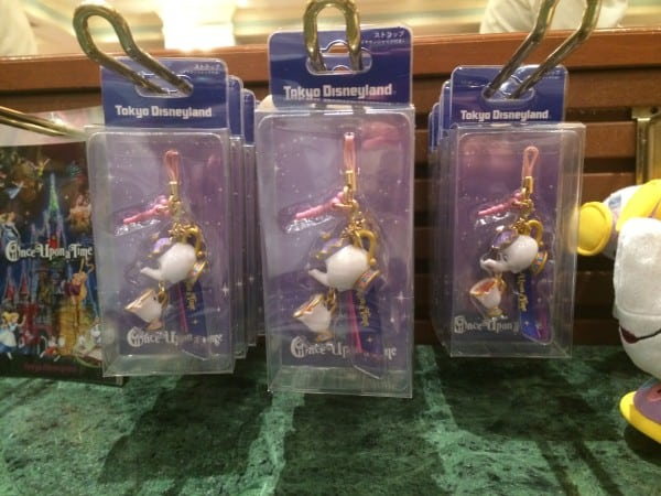 Mrs. Potts and Chip Phone Keychains