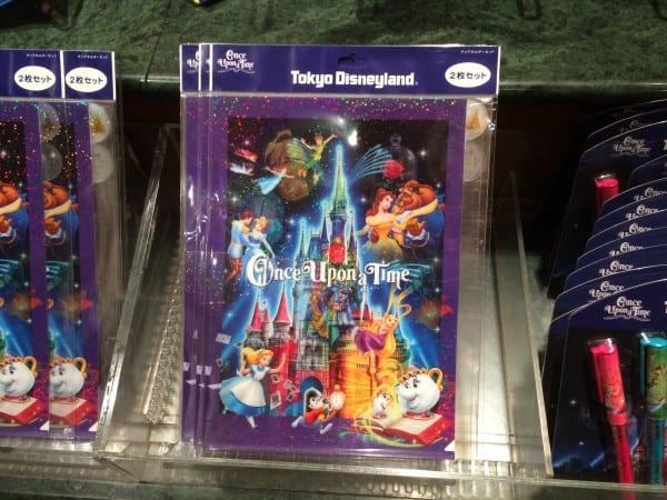 Once Upon A Time File Folder at Tokyo Disneyland