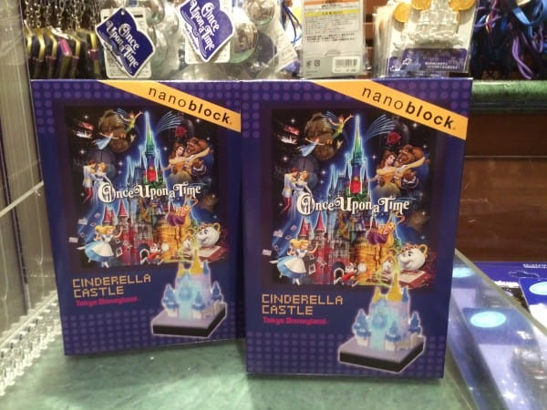 Cinderella Castle Nano Blocks Once Upon A Time in Tokyo Disneyland