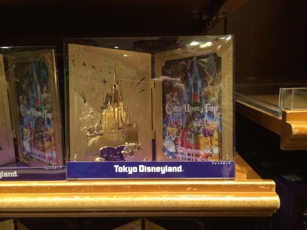 Golden Photo Frame Once Upon A Time at Tokyo Disneyland
