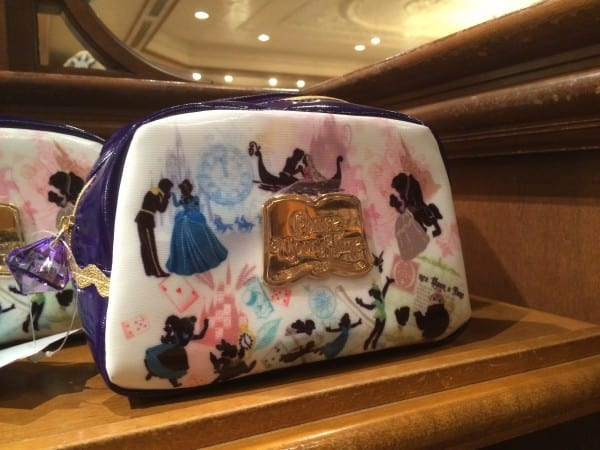 Once Upon A Time Vinyl Toiletry Bag at Tokyo Disneyland