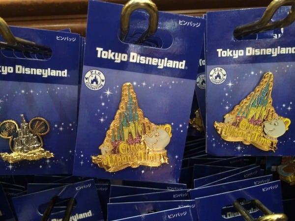 Once Upon A Time Pin Set at Tokyo Disneyland