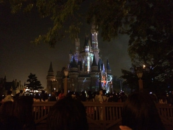 Once Upon A Time at Tokyo Disneyland Lasers