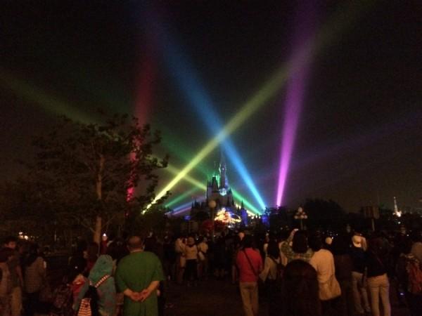 Once Upon A Time at Tokyo Disneyland Laser