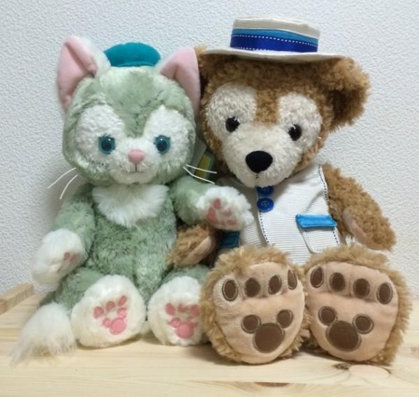 Gelatoni and Duffy at Tokyo DisneySea