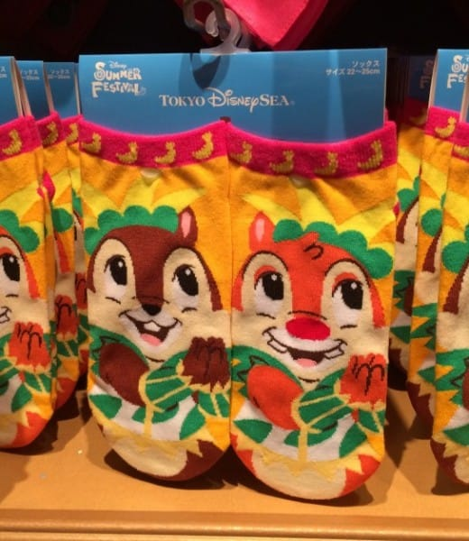 Chip N Dale Summer Festival Ankle Socks