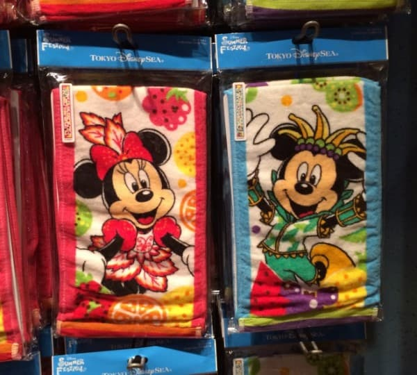 Mickey and Minnie Summer Festival Long Towels