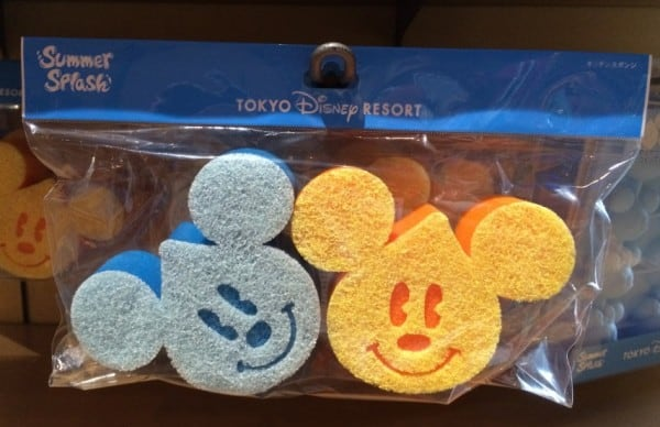 Mickey Waterdrop Sponges