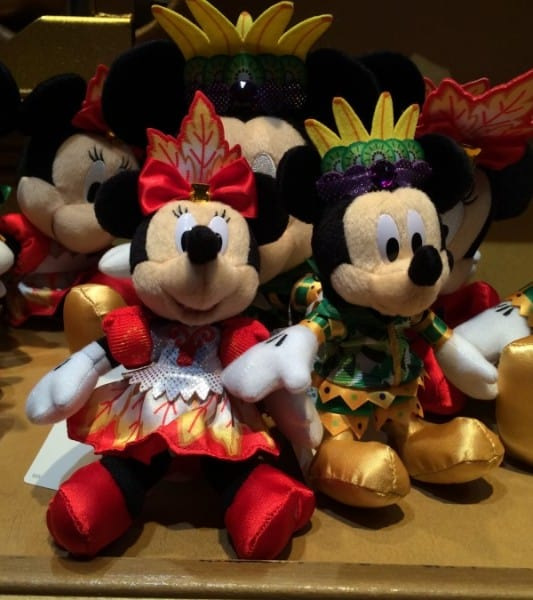 Summer Festival Mickey and Minnie Plush