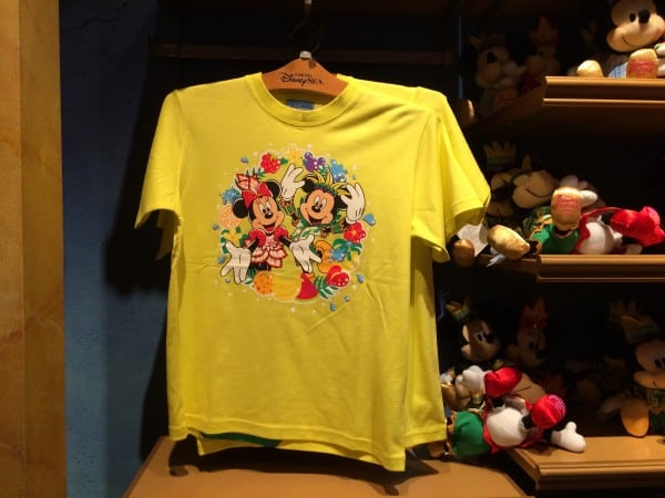 Summer Festival Mickey and Minnie Tshirt
